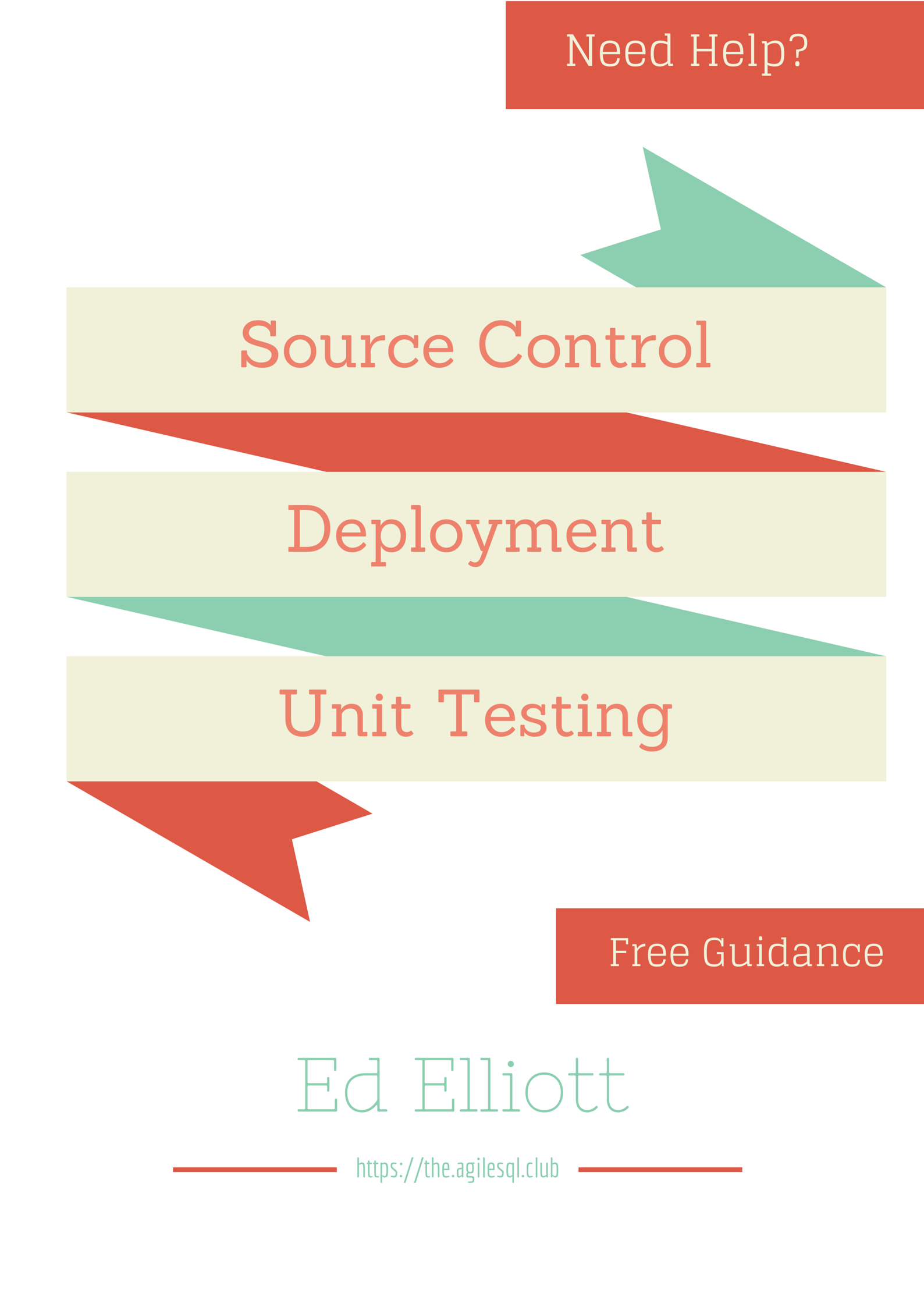 Free Help setting up CI, Unit Testing, Deployments etc for Sql Server databases